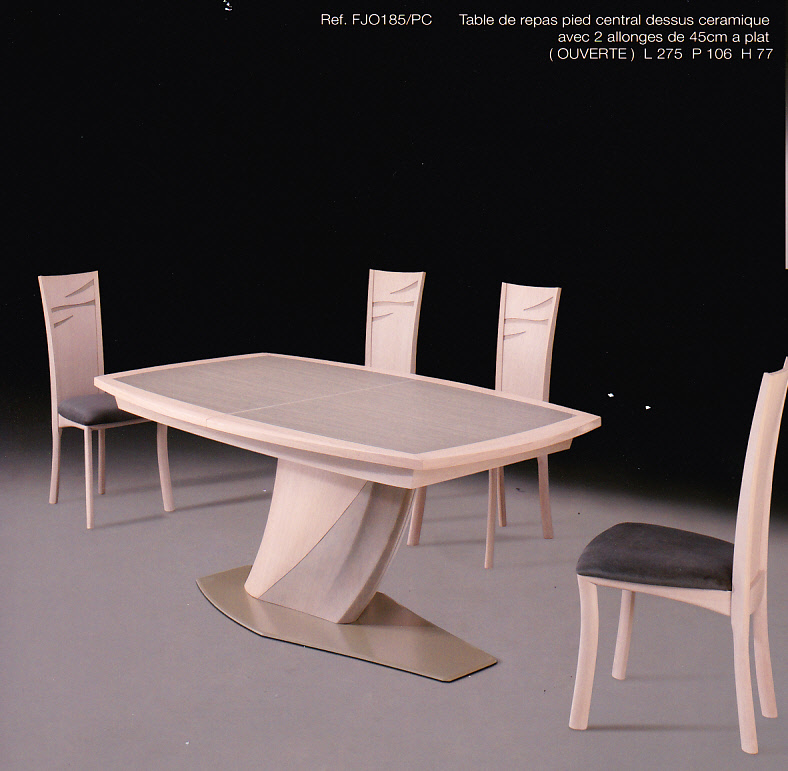 Collection fjord chne et contemporaine meubles for Table salle manger monsieur meuble