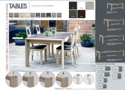 CONCEPT TABLE - Composons ensemble la table qui vous ressemble !