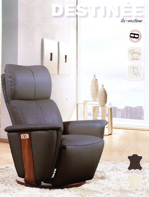fauteuil relax electrique bi moteur canaps salons la. Black Bedroom Furniture Sets. Home Design Ideas