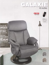 FAUTEUIL RELAXATION GALAXIE PIVOTANT 360°