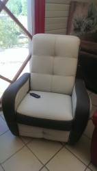 FAUTEUIL RELAX ELECTRIQUE IDIANA